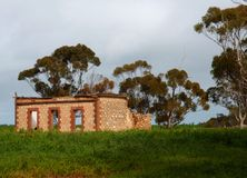 Rural Australian Ruins Stock Photography
