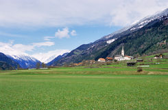 Rural Austrian Village Stock Photo