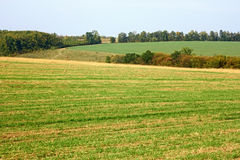 Rural autumn landscape Royalty Free Stock Images