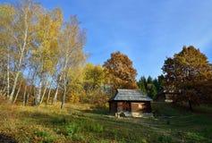 Rural autumn landscape Royalty Free Stock Photo