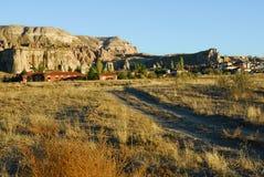 Anatolia countryside, Turkey. Rural autumn landscape at sunset time in Anatolia. Turkey Royalty Free Stock Image