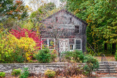 Rural Autumn Scene Royalty Free Stock Images