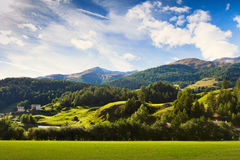 Rural background Stock Images
