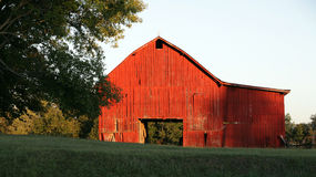 Rural Barn Tennessee Royalty Free Stock Photos