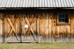 Rural Barn Wall Royalty Free Stock Photo
