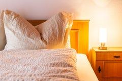 Rural bedroom Stock Photos