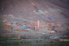 Rural Berber village life in Morocco Royalty Free Stock Image