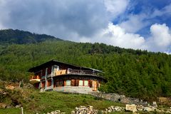 Rural Bhutan Royalty Free Stock Photo
