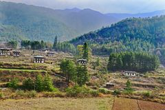 Rural Bhutan Stock Photography