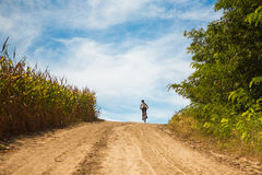 Rural biking Royalty Free Stock Photos