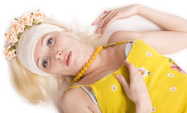 Rural Blond Royalty Free Stock Photography