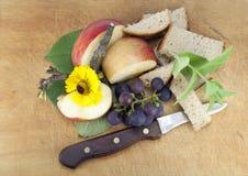 Rural breakfast Stock Image
