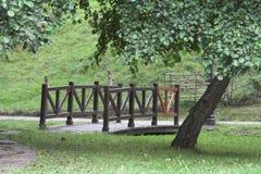 Rural bridge. At Ruente, Cantabria, Spain Stock Image