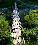 Rural Bridge. Bridge over river Royalty Free Stock Photo