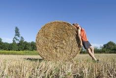 Rural bucolic suntan Stock Image