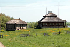Rural building in Eastern Europe Royalty Free Stock Photo