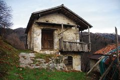 Rural Building in Topolo Royalty Free Stock Images