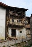 Rural Building in Topolo, Friuli Stock Image