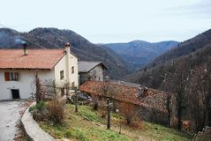 Rural Buildings in Friuli Stock Photos