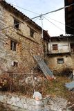 Rural Buildings in Topolo Royalty Free Stock Photos