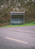 Rural bus stop. Stock Images
