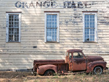Rural California Grange Hall Stock Photos