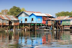 Rural Cambodia Royalty Free Stock Images