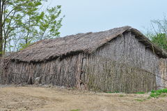 Rural cane house Stock Photo