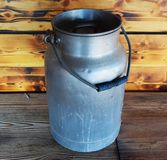 Rural canister Royalty Free Stock Photo