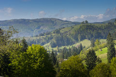 Rural Carpathian landscape Romania Royalty Free Stock Photos