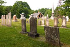 Rural Cemetery Stock Photography
