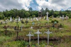 Rural cemetery Stock Photos