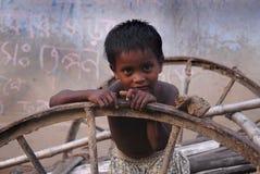Rural Children in India Stock Images