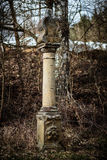 Rural Christian Monument Stock Image