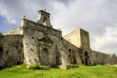 Rural Church. An Abandoned ancient rural church in the sicilian country Royalty Free Stock Photos