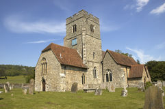 Rural church. A rural church with blue sky in Kent,England Stock Images