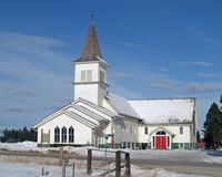 Rural Church Royalty Free Stock Image
