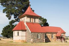 Rural Church Royalty Free Stock Images