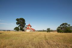 Rural Church Stock Photography