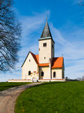 Rural church in Chvojen Royalty Free Stock Image