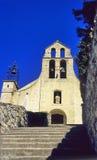 Rural Church, Gigondas. An ancient church in the heart of Provencial wine country, Gigondas, France royalty free stock photography