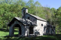 Rural church of Gola di Lago Royalty Free Stock Photo