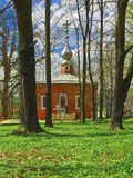 Rural church. Manor church. Memorial estate Muranovo of  name of F. I. Tyutchev near Moscow, Russia Royalty Free Stock Images