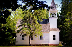 Rural Church in Michigan Royalty Free Stock Photography
