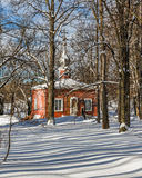 Rural church. Museum-reserve Muranovo. Moscow region, Russia Royalty Free Stock Photography