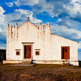 Rural church in Portugal Stock Photo