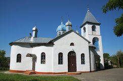 Rural church in Russia Stock Photos