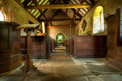 Rural church, Shropshire. Small parish church at Shipton near Much Wenlock, Shropshire, England Royalty Free Stock Images