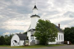 Rural church Royalty Free Stock Photography