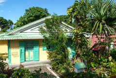 Rural colonial house at St. Rose on La Reunion island Stock Images